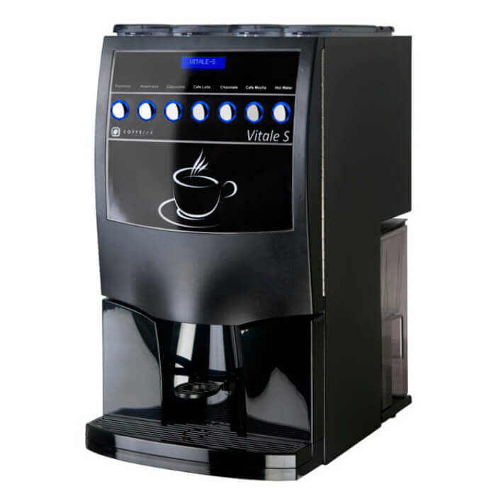 Vitale S Coffee Machine Cafe Fair Trade