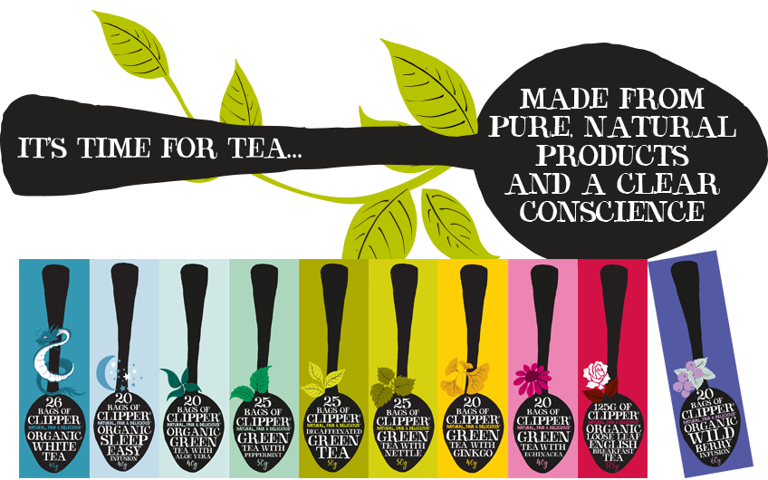 Clipper Fairtrade Organic Speciality Earl Grey ⋆ Cafe Fair