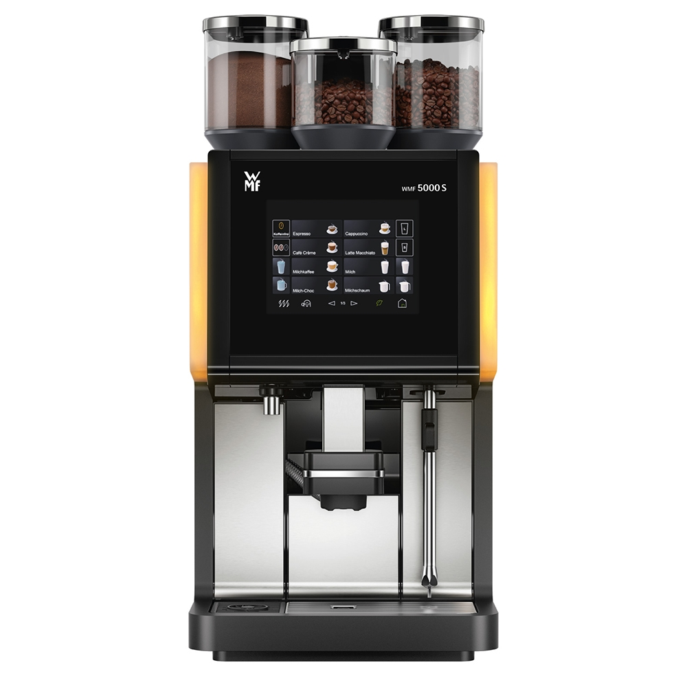 wmf 5000 s bean to cup coffee machine cafe fair trade. Black Bedroom Furniture Sets. Home Design Ideas