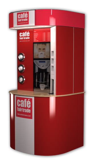 Industrial coffee machine