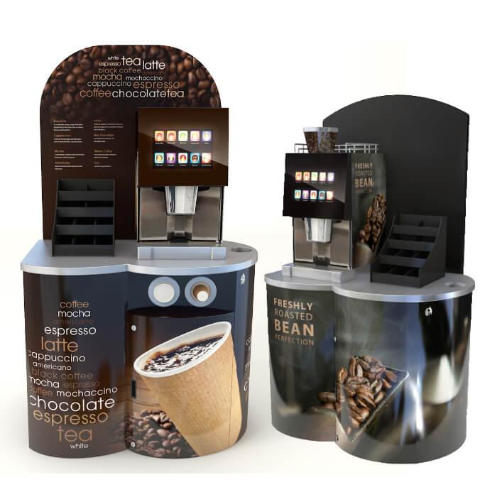 Mini Pod Small Coffee Station