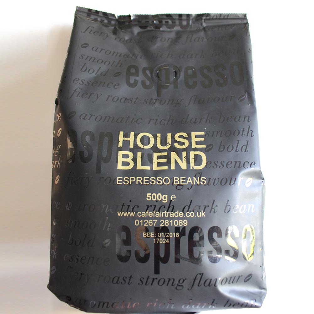House Blend Espresso Beans 500g