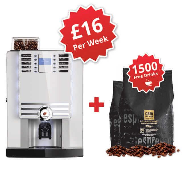 Rhea Grande Bean To Cup Coffee Machine