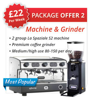 Espresso Machine Package Offer 2
