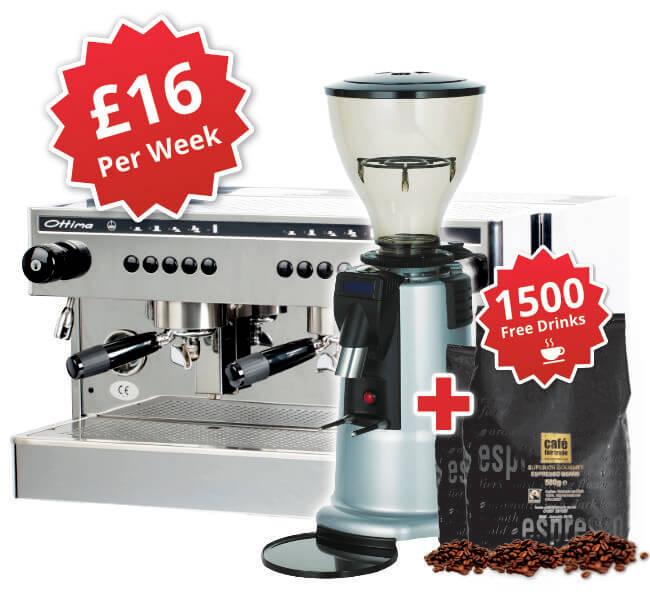 visacrem espresso machine package