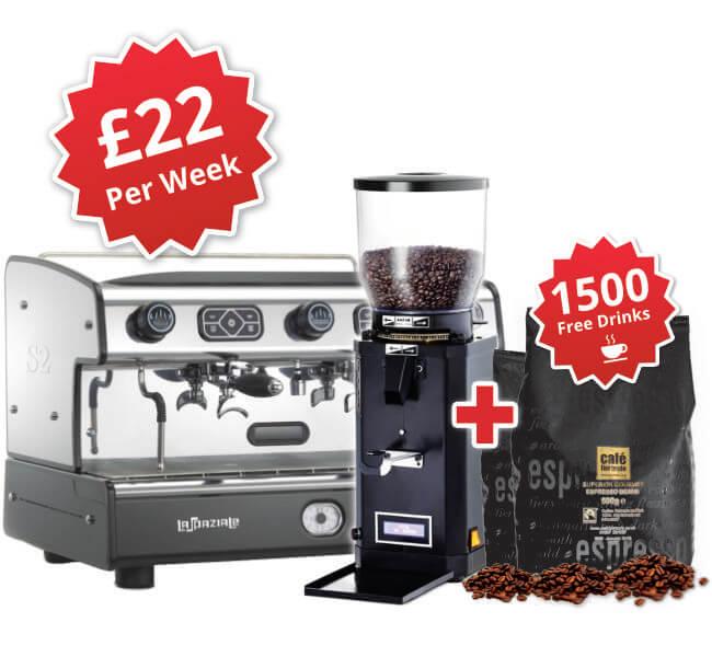 La Spaziale S2 Espresso Machine Package