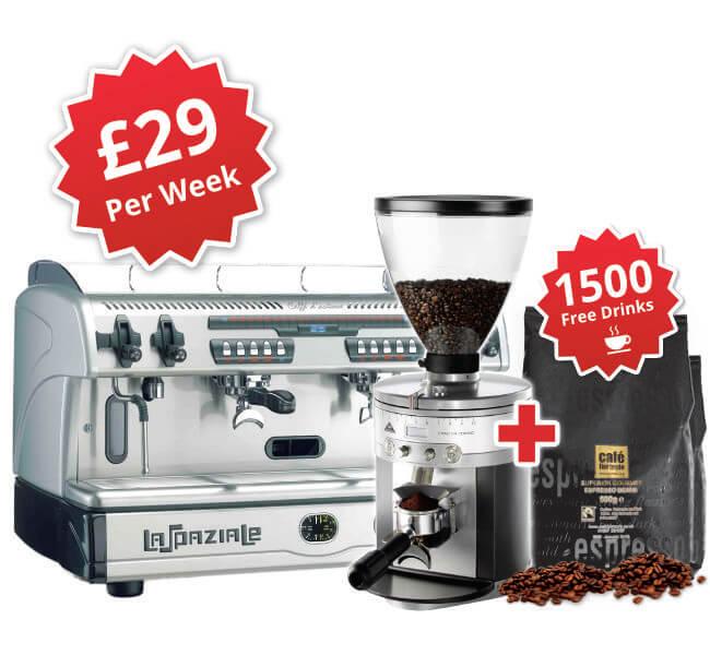 la spaziale S5 espresso machine package